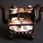 Pastry Cart Teapot