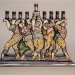 Chanukah Dancers Menorah
